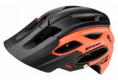 Casque kenny enduro s3 noir orange m l 57 60 cm