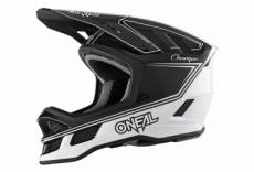 Casque integral o neal blade charger noir blanc l 59 60 cm