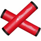 Lizard skins dsp paire de grip 32 3mm rouge