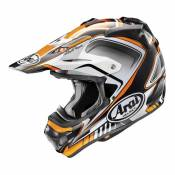 Casque cross Arai MX-V Speedy orange/gris/noir brillant- M
