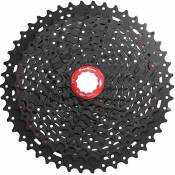Cassette SunRace MX8 (11 vitesses SRAM) - Noir - Chrome - 11-42t, Noir - Chrome