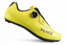 Chaussures route lake cx301 jaune fluo 43