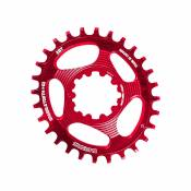 Plateau ovale Blackspire Snaggletooth (SRAM, étroit/large) - Rouge - 3mm Offset, Rouge