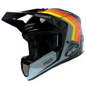Casque cross Kenny TRACK - VICTORY - BLACK GREY ORANGE 2021