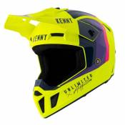 Casque cross Kenny PERFORMANCE - GRAPHIC - NEON YELLOW 2021