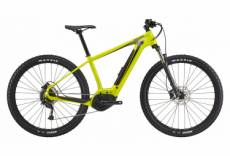 Vtt electrique semi rigide cannondale trail neo 4 shimano alivio 9v 500 wh 29 jaune highlighter 2021 m 170 182 cm