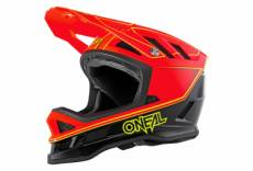 Casque integral o neal blade charger neon rouge xs 53 54 cm