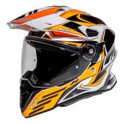 Casque trail Airoh Commander Carbon orange- L
