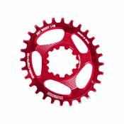 Plateau Blackspire Snaggletooth DM (SRAM, oval, Boost) - Rouge - Direct Mount, Rouge