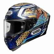 Casque intégral Shoei X-Spirit III Motegi 3 TC-2 multicolore- XS