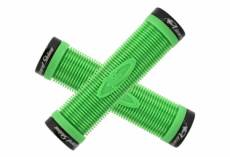 Poignees lock on charger grip lizard skins vert