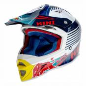 Casque cross Kini Red Bull Competition bleu marine - S (56cm)