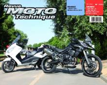 Revue Moto Technique 170 Peugeot Satelis 125 / Triumph Tiger 800
