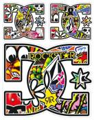 Stickers T4 Tune DC Shoes