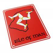 Plaque de parking Isle Of Man