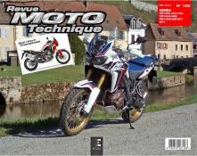 Revue Moto Technique 185 Honda CRF 1000 L Africa Twin