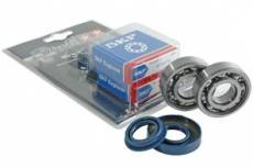 Kit roulements et joints spy Stage6 C3 6204 cage acier AM6 (soie de 20mm)