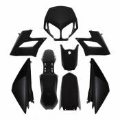 Kit de carrosserie Noir Derbi Senda DRD Racing 04-09