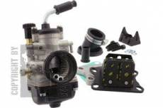 Kit carburateur Malossi Multi-Positions PHBG d=21mm Derbi Euro 2 / Euro 3