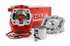 Cylindre culasse Airsal 88cc ''Xtrem'' Course 45mm Derbi Euro2 (EBE / EBS)