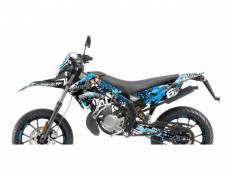 Kit déco Stage6 Derbi X-Treme/ X-Race bleu - noir