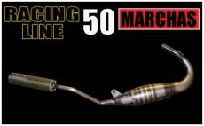 Pot d'échappement SCR Racing Line 50 passage bas Rieju RS2 Matrix sile