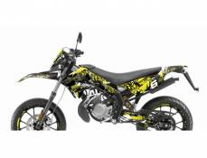 Kit déco Stage6 Derbi X-Treme/ X-Race jaune - noir