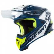 Casque cross Kenny TROPHY NAVY WHITE 2019