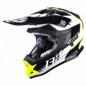 Casque cross Just1 J32 Pro Kick noir / blanc / jaune- M