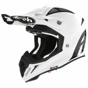 Casque cross Airoh AVIATOR ACE - COLOR - WHITE GLOSS 2021