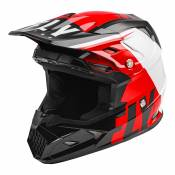 Casque cross enfant Fly Racing Toxin Mips Transfer rouge/noir/blanc -