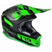 Casque cross Just1 J32 Pro Kick noir / vert- M