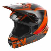 Casque cross enfant Fly Racing Elite Vigilant orange/noir - YL