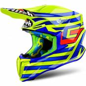 Casque cross Airoh Twist Cairoli Qatar jaune - L