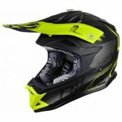 Casque cross Just1 J32 Pro Kick jaune / noir / titanium mat- M
