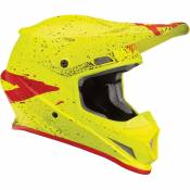 Casque cross Thor Sector Hype acid/rouge - 2XL