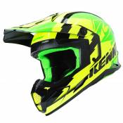 Casque cross Kenny TRACK GREEN NEON YELLOW 2019
