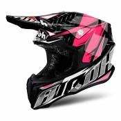 Casque cross Airoh Twist Iron rose - L