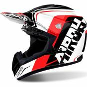 Casque cross Airoh Switch Sign rouge - L