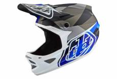 Casque integral troy lee designs d3 carbon mips jet bleu xs 52 53 cm