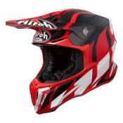Casque cross Airoh Twist Great rouge mat - L