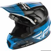 Casque cross enfant Fly Racing Toxin Mips Embargo bleu/noir - YS