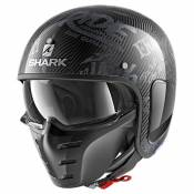 Casque jet Shark S-DRAK FREESTYLE CUP carbone/anthracite - S