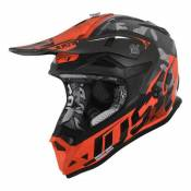 Casque cross Just1 J32 Pro Swat camouflage / orange- M
