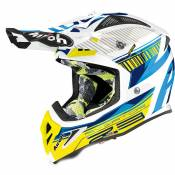 Casque cross Airoh AVIATOR 2.3 - NOVAK - CHROME BLUE - AMSS 2020