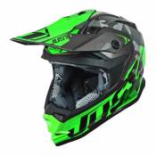 Casque cross Just1 J32 Pro Swat camouflage / vert- S