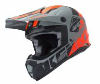 Casque cross Kenny Track gris - XS