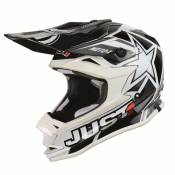 Casque cross Just1 J32 Moto X Blanc- L