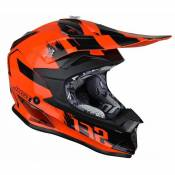 Casque cross Just1 J32 Pro Kick orange / noir- XL