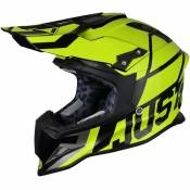 Casque cross Just1 J12 Unit jaune / carbone- L